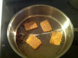 crispy tofu inpan