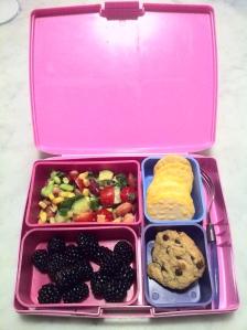kym salad in lunchbox