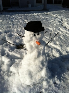 family day snowman