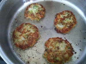 fritters in pan 2