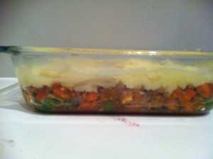 shepard's pie in pan