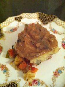 shepard's pie on plate