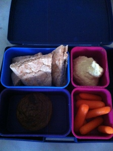 hummus lunchbox