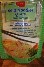 raw tom sauce kelp noodles