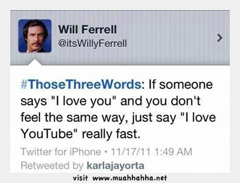 Funny Love Quotes Will Ferrell : funny quote 5